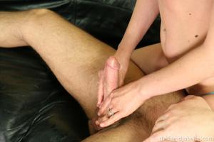 Best handjobs porn. Skank jerks off hard - XXX Dessert - Picture 15