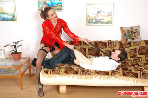 Strap on porn. Hottie with strap-on maki - XXX Dessert - Picture 9
