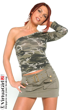 Redhead porn. Redhead Virtua girl. - XXX Dessert - Picture 2