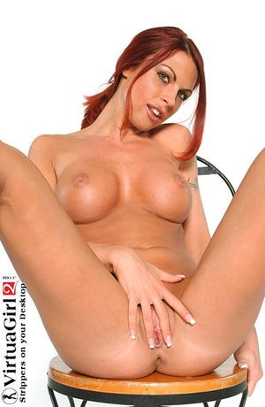 Redhead porn. Redhead Virtua girl. - XXX Dessert - Picture 16