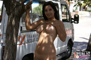 Nude in public. Follow this passionate b - XXX Dessert - Picture 8