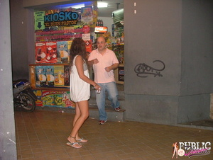 Public sex. Drunk chick lost control dur - XXX Dessert - Picture 3