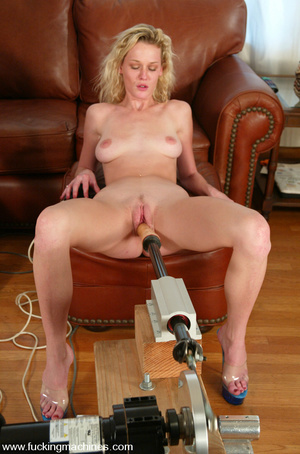 Sex machine porn. More double blonde fun - XXX Dessert - Picture 8