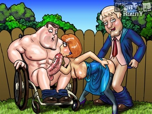 Sexy cartoons. Family Guy's nymphos. - XXX Dessert - Picture 2