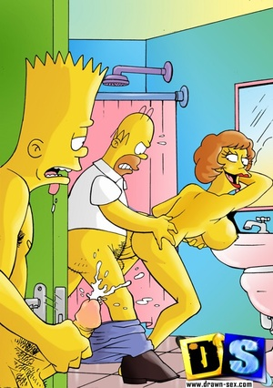 simpson porn Xxx cartoon