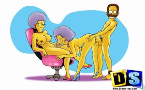 Cartoon sex porn. The Simpsons perversio - XXX Dessert - Picture 2