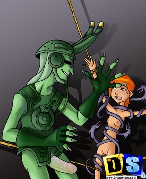 Porn cartoon. Ben 10 sex invasion. - XXX Dessert - Picture 3