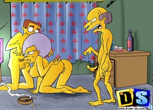 Animation porn. The Simpsons pussies. - XXX Dessert - Picture 4