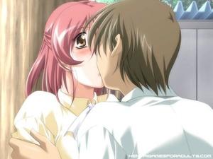 Hentai free. A couple of hot anime virgi - XXX Dessert - Picture 10