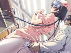 Anime porn. Hot anime chick with glasses - XXX Dessert - Picture 4