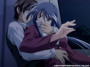 Anime sex. Hot anime virgin gets tied up - XXX Dessert - Picture 1