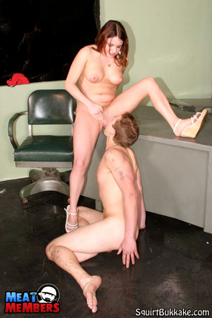 Squirting pussy. Matt gets his face all  - XXX Dessert - Picture 15