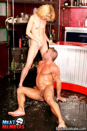 Squirting girl. Big stud gets his face a - XXX Dessert - Picture 12