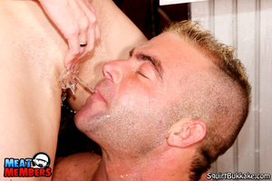 Squirting girl. Big stud gets his face a - XXX Dessert - Picture 16