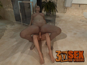 3d cartoon sex. When she got out of the  - XXX Dessert - Picture 9