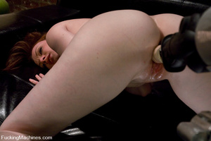 Fuckingmachines. New girl has creamy pus - XXX Dessert - Picture 8