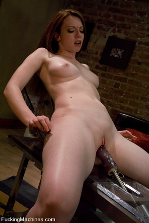 Fuckingmachines. New girl has creamy pus - XXX Dessert - Picture 10