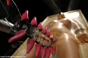 Sexmachines. Christina Carter gets bound - XXX Dessert - Picture 1
