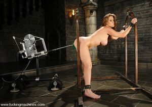 Sexmachines. Christina Carter gets bound - XXX Dessert - Picture 2