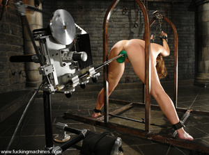 Sexmachines. Christina Carter gets bound - XXX Dessert - Picture 5