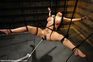 Sexmachines. Christina Carter gets bound - XXX Dessert - Picture 8