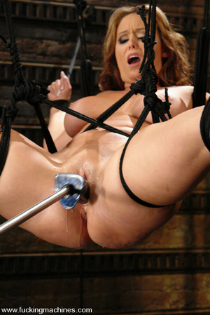 Sexmachines. Christina Carter gets bound - XXX Dessert - Picture 9