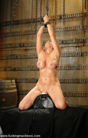Sexmachines. Christina Carter gets bound - XXX Dessert - Picture 10