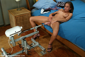 Machines sex. This hottie takes her time - XXX Dessert - Picture 8