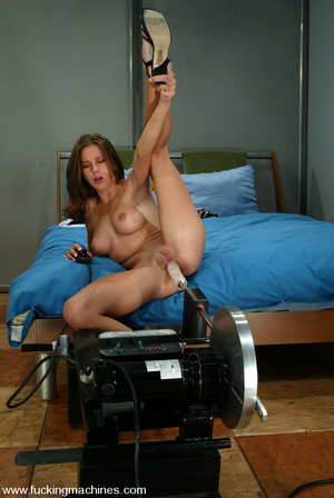 Machines sex. This hottie takes her time - XXX Dessert - Picture 15