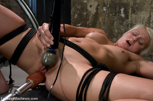 Fucking machine sex pics. Toned blond is - XXX Dessert - Picture 9