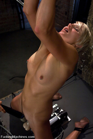 Fucking machine sex pics. Toned blond is - XXX Dessert - Picture 12