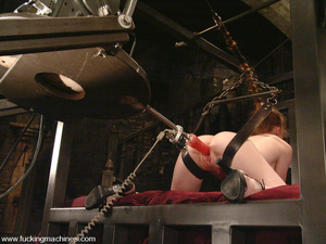 Sex machine xxx. Lovely red-head gets ti - XXX Dessert - Picture 6