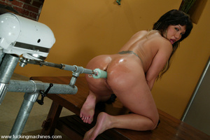 Machine fuck. Insatiable Ava Devine take - XXX Dessert - Picture 15