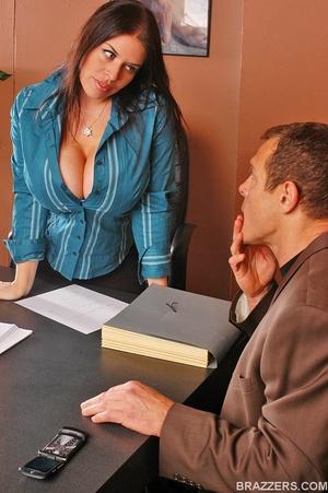 Big tits. Humongous boobed Daphne Rosen  - XXX Dessert - Picture 1