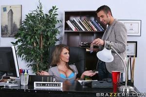 Big titties. Jenna Presley fucks her ric - XXX Dessert - Picture 6