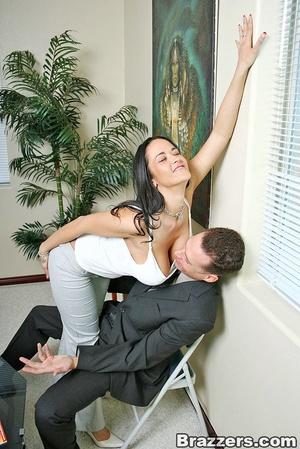 Horny secretary. Busty Carmella Bing get - XXX Dessert - Picture 4
