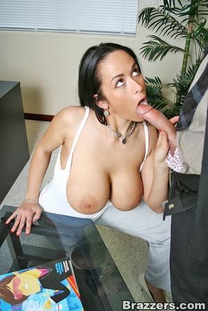 Horny secretary. Busty Carmella Bing get - XXX Dessert - Picture 8