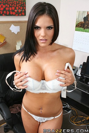 Office lady. Busty office girl Mackenzee - XXX Dessert - Picture 2