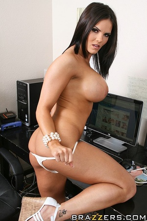 Office lady. Busty office girl Mackenzee - XXX Dessert - Picture 3