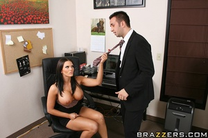 Office lady. Busty office girl Mackenzee - XXX Dessert - Picture 6