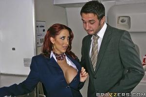 Big tits round. This flight attendant is - XXX Dessert - Picture 6