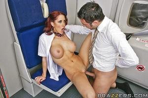 Big tits round. This flight attendant is - XXX Dessert - Picture 11